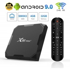 X96 MAX 8k Android Media Player 4/64