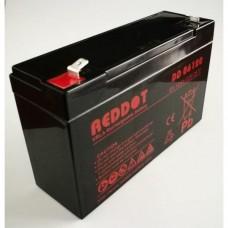6V 12Ah RedDot Zselés akkumulátor T1