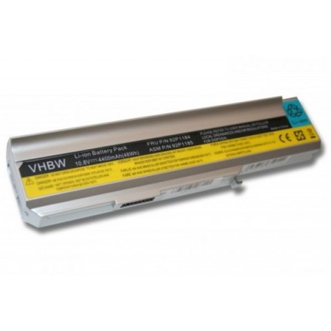 Lenovo 3000 / N100 4400mAh Ezüst Laptop Akkumulátor