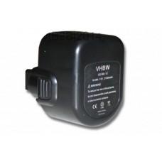 Black & Decker CD1201 12V NI-MH 2100mAh Szerszámgép Akkumulátor