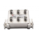 Triax AFC 1641 4-es leágazó F csatlakozo 12,5-15,0 dB