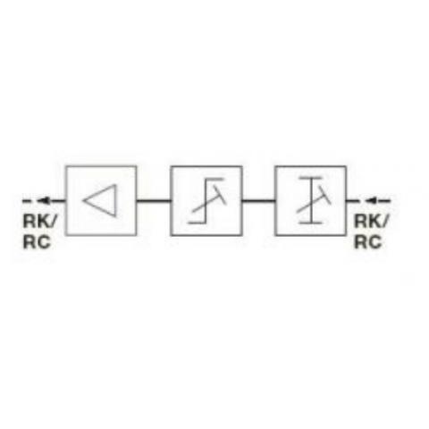 Triax GRM 6505 G Visszirányú erősitő modul régi GPV/GLV-be, 17 dB