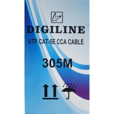 UTP kábel DIGILINE CAT5e CCA 305m