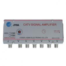 Jelerősítő CATV 6-es osztóval